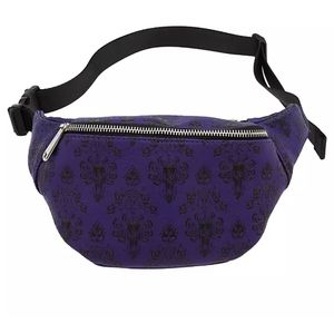 Haunted Mansion Wallpaper Fanny Pack Loungefly